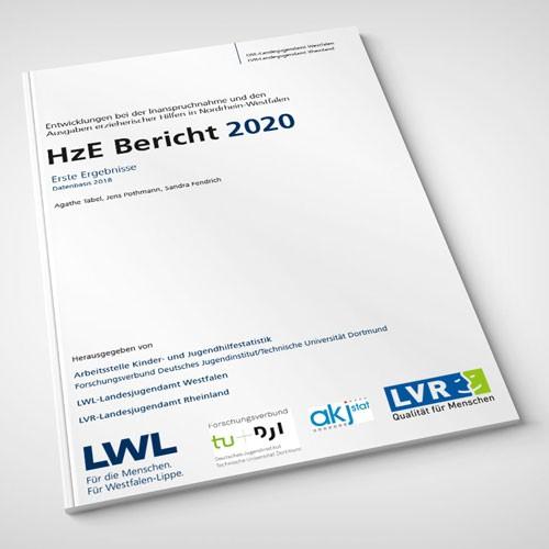 Umschlag des HzE-Berichtes 2020 Erste Ergebnisse